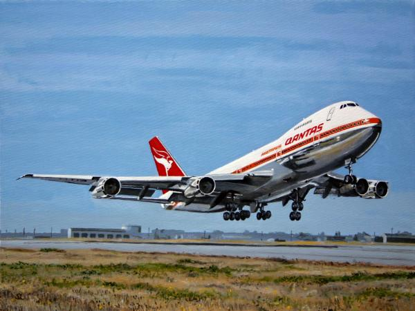 Qantas Boeing 747-238