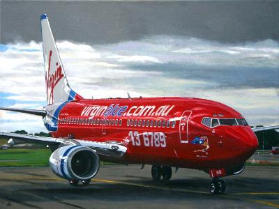 Virgin Blue Boeing 737-700