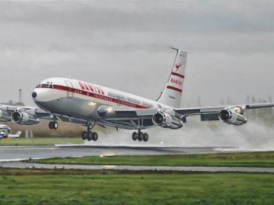 VH-XBA's Southend Departure