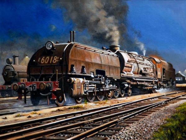 Garratt Locomotive 6018