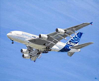 First Flight of the Airbus A380