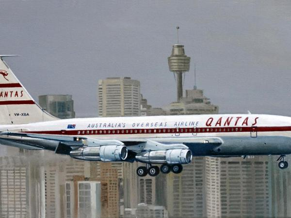 VH-XBA's Sydney Arrival