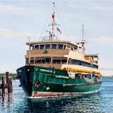 "The Manly ferry ""Freshwater"""