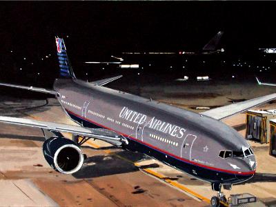 United Airlines Boeing 777