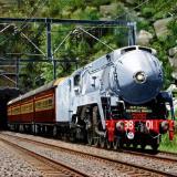 Locomotive 3801 at Helensburgh