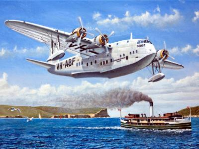 QEA Short S23 Flying Boat