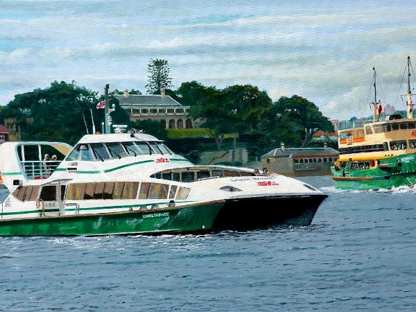 Sydney Ferries off Kirribilli