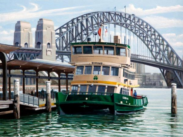 """Sirius"" at Circular Quay"