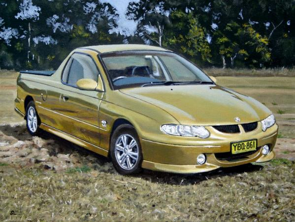 Holden Commodore Storm Utility