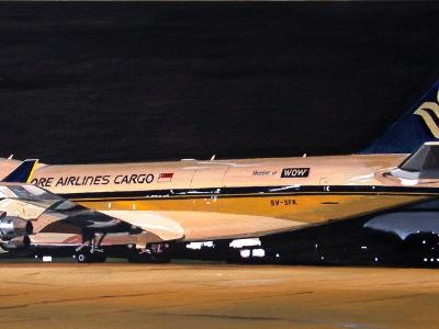 Singapore Airlines Boeing 747-400F