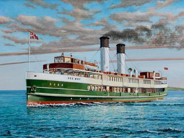 """Sydney ferry """"Dee Why"""""""