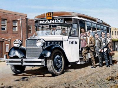 First government bus to Manly