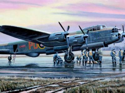 """Avro Lancaster """"B"""" for Baker"""