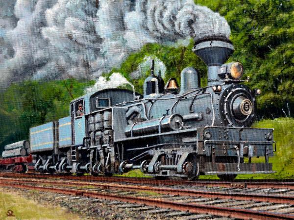 The American Shay Locomotive
